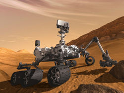 Из снимков марсохода Curiosity составили панораму в миллиард пикселей