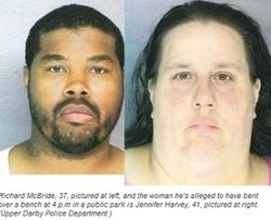 Шок: на публично предавшихся интиму в США набросились 25 полицейских