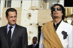 Разговор Николя Саркози и Каддафи