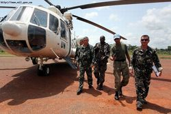 обстрел миротворцев в Конго