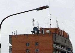 Могилевчан заставят убрать спутниковые антенны