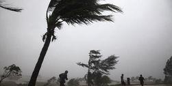 Мощный тайфун Санбо