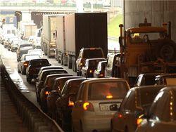 На Пулковском шоссе столкнулись две машины