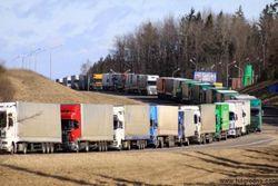 На белорусско-литовской границе очередь