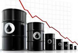 Падают цены на нефть