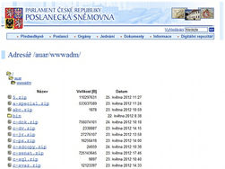 официальный сайт Палаты депутатов