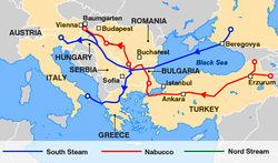Кто понесет каспийский газ в Европу или почему проиграл Набукко