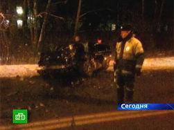 Виновник ДТП на Рублевском шоссе