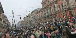 Население Петербурга