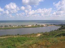 Озеро агрогородка Гурнофель