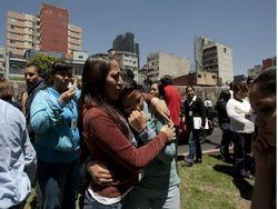 Землетрясение у берегов Мексики