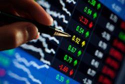 Фондовые торги в РФ