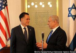 Нетанияху пожаловался Ромни