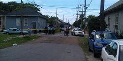 Место расстрела парада в Новом Орлеане
