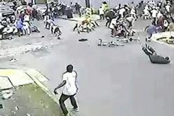 На видео расстрела людей на параде в Новом Орлеане видно стрелка