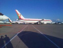 Новый самолет Лукашенко