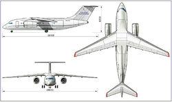 Военный транспортник Ан-178