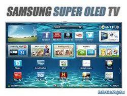 Samsung представил на  гибкий OLED-телевизор