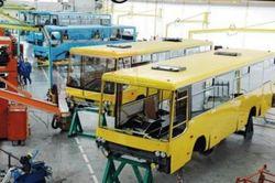 Объемы украинских автопроизводителей