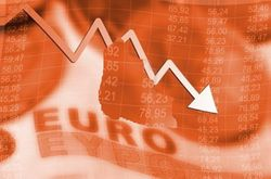 Обвал евро