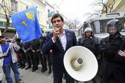 Оппозиция устроила шествие по центру Астрахани