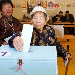 выборы в Монголии