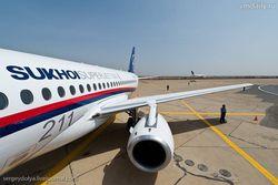 Крушение Superjet-100