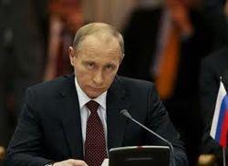 Первые визиты Путина