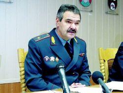 Лукашенко уволил генерала милиции Найденко