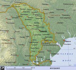 Визовый режим между Молдовой и Россией