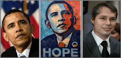 Автор портрета Барака Обамы