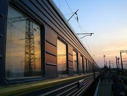 Поезд Николаев-Москва