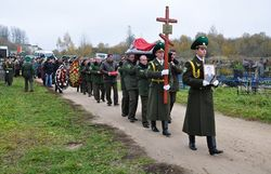 похороны пилота