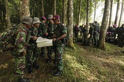 Поисково-спасательные работы в Индонезии