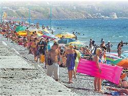 украинский пляж