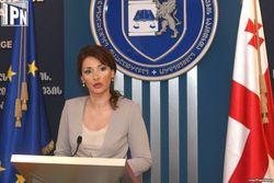 Глава МВД Грузии подала в отставку