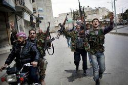 Посылаемое сирийским повстанцам оружие