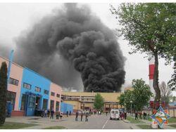 Пожар на Гродно Азот