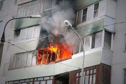 Москвичка сгорела