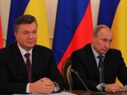Президенты Украины и России