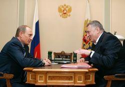 Путин наградил Жириновского медалью