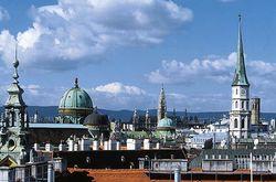 Российские туристы в Вене