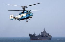 Российский корабль с вертолетами для Сирии