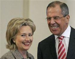 Лавров и Клинтон