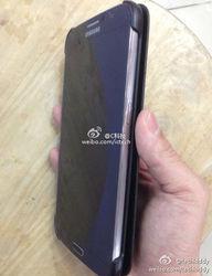 Samsung Galaxy Note III изображен на новых фото