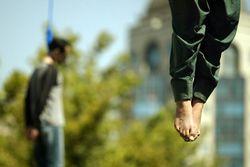 казнь в Иране