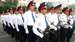 Полиция Казахстана