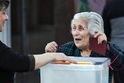 Сегодня в Армении выборы