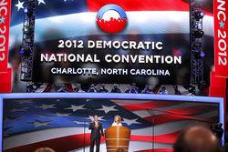 Съезд Демократической партии США помог Обаме