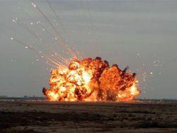 """Взрывы на полигоне """"Мулино"""""""